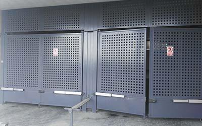 Puertas Automáticas Abatibles