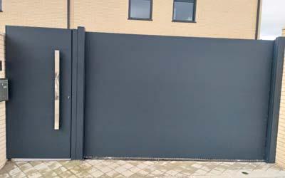 Puertas Aluminio Soldado